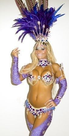 Carnival Purple Costume