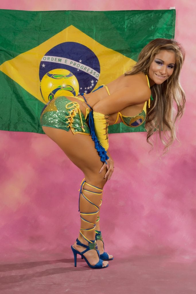 Geanni Brasil is a R rated Showgirls and performs the Adult Brazilian Carnival Show
